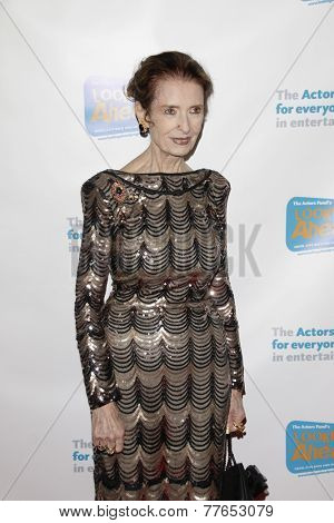 LOS ANGELES - DEC 4:  Margaret O'Brien at the The Actors Fund�?�¢??s Looking Ahead Awards at the Taglyan Complex on December 4, 2014 in Los Angeles, CA