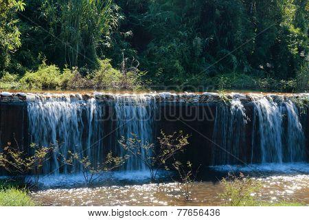 Weir Dike Dam