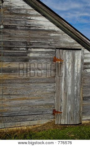 Barn and Side Door