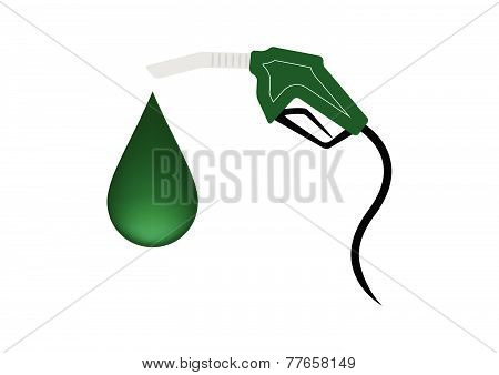 Green Fuel Nozzle With Drop