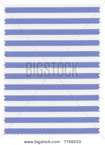 Striped Fabric swatch