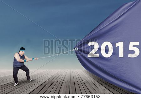Overweight Person Pulling Number 2015