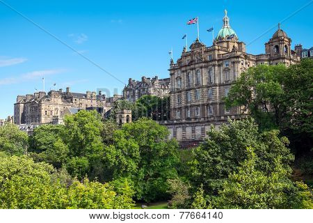 Historic buildings in Edinburgh