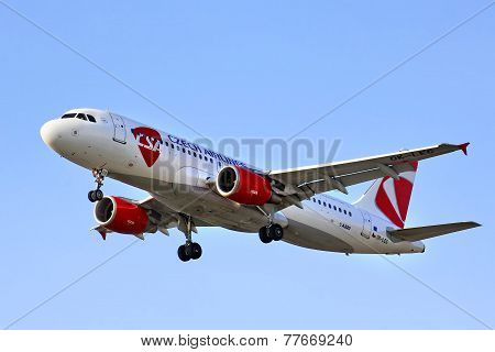 Csa Czech Airlines Airbus A320