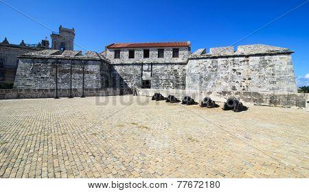 Oldest fortress in Cuba - castillo de la Real Fuerza.