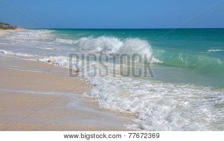 Caribbean Sea. Playa los Cocos. Cayo Largo. Cuba.