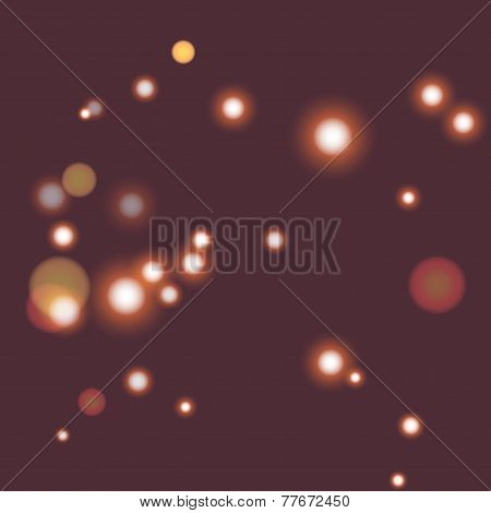 Blur Bokeh Abstract  Bright Color Background