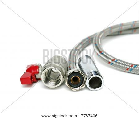 Plumbing Devices Isolated