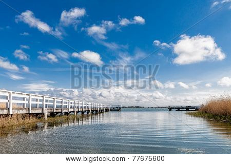 Lake With Pier