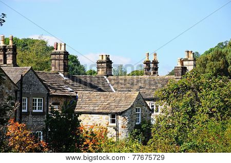 Cottages, Bakewell.