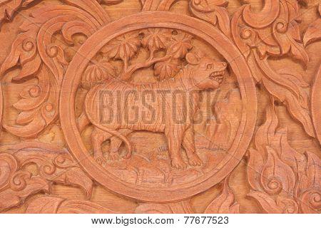 Tiger Chinese Zodiac Animal Sign