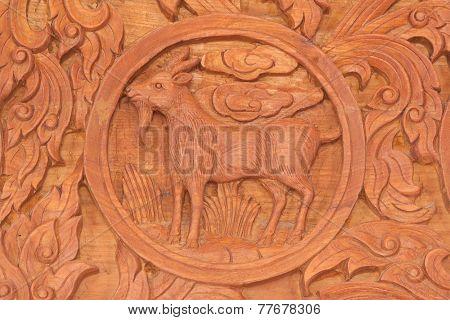 Goat Chinese Zodiac Animal Sign