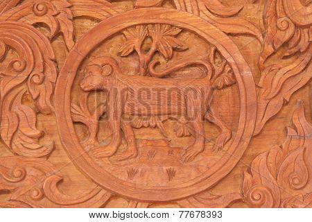 Monkey  Chinese Zodiac Animal Sign