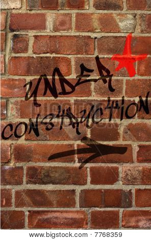 Under Construction Graffiti