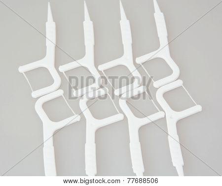 New Dental Floss Sticks