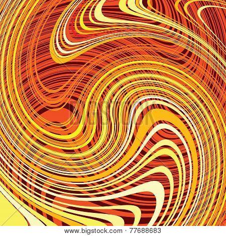 Swirl Lines Background. Vector