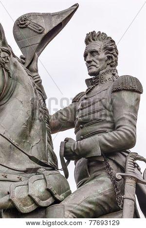 Andrew Jackson Statue Lafayette Park Pennsylvania Ave Washington Dc