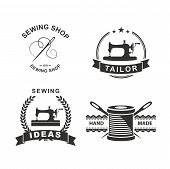 picture of tailoring  - Set of tailor labels - JPG