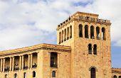 stock photo of armenia  - Building at the Republic Square in Yerevan Armenia - JPG