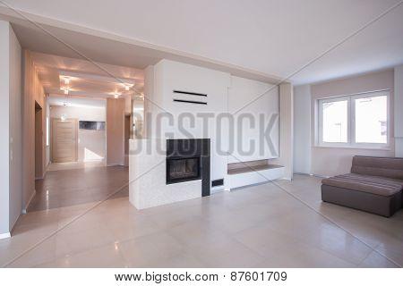 Modern Interior In Luxury House