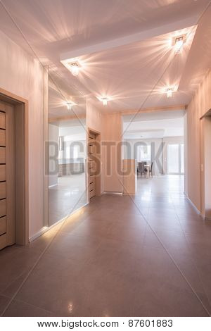 Hallway In Modern Apartment