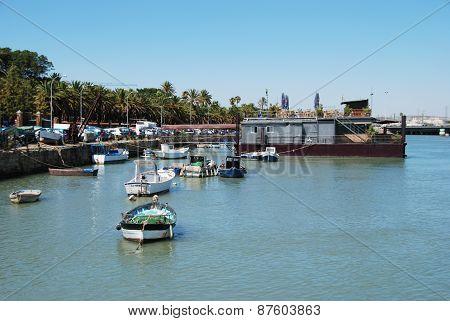 Harbour area, El Puerto de Santa Maria.