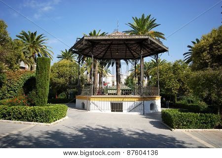 Town bandstand, Aguilar de la Frontera.