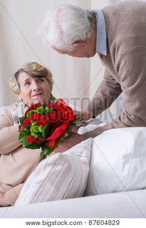 Romantic Senior Husband