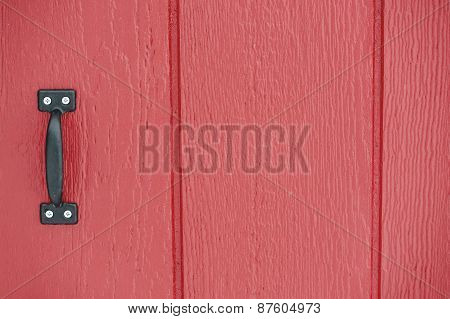 Rustic Red Barn Door