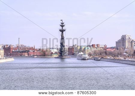 Panorama Of The Moskva River