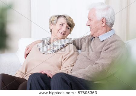 Romance In Old Age