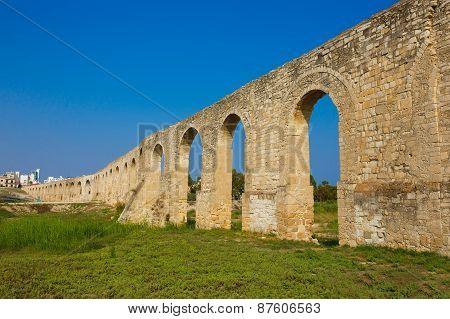 Panorama of Ottoman Kamares Aqueduct