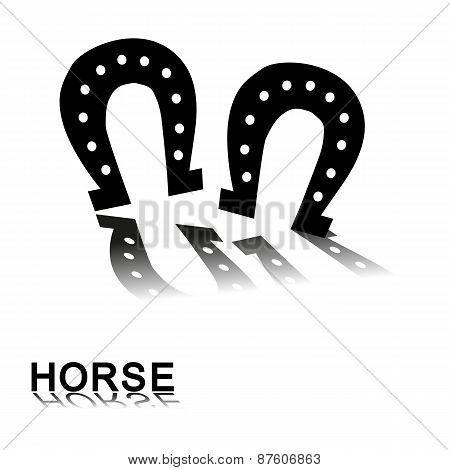 Horse Paw Prints