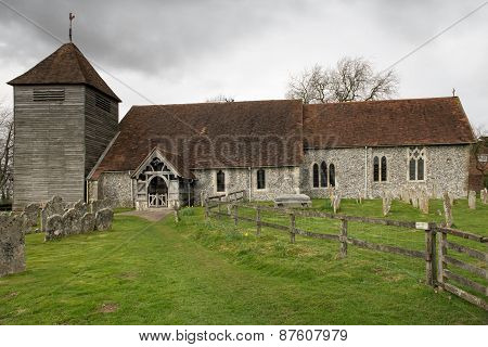 Ancient English Country Church