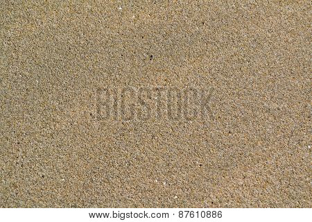 Beach Sand Texture Or Background