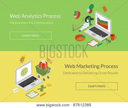 Analytics and marketing processes