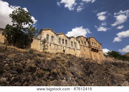 Historical Greek Houses In Guzelyurt, Aksaray,turkey
