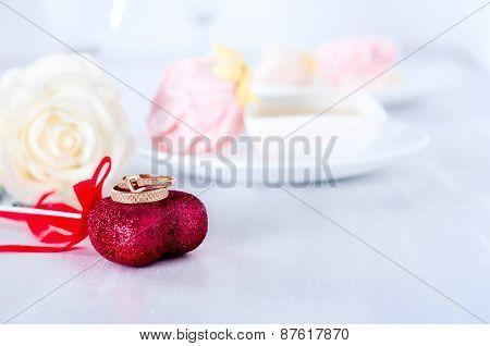 Valentine's Day Dekoration Declaration Of Love