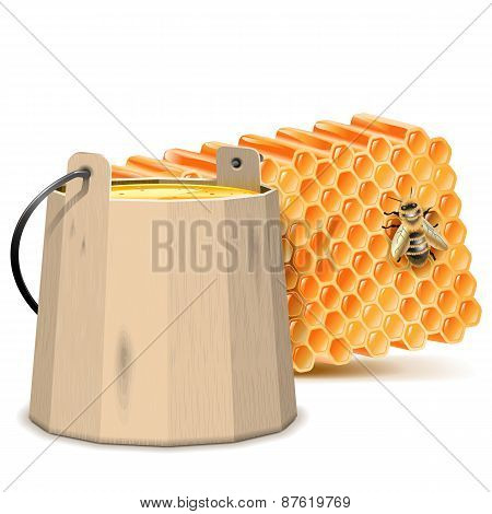 Vector Barrel With Honeycombs