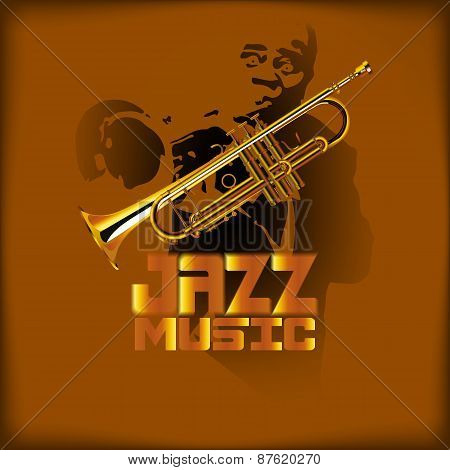 Jazz Music And Trumpet