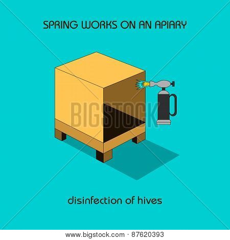 Disinfection Of Hives (spring Work)