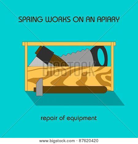 Repair Equipment (spring Work)