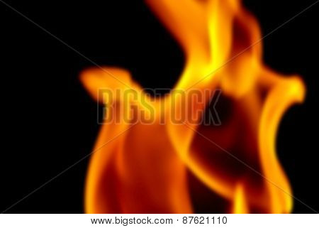 Abstract Flame Background