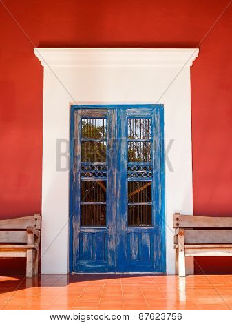 Old Colonial Door
