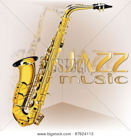 Saxophone Jazz Music