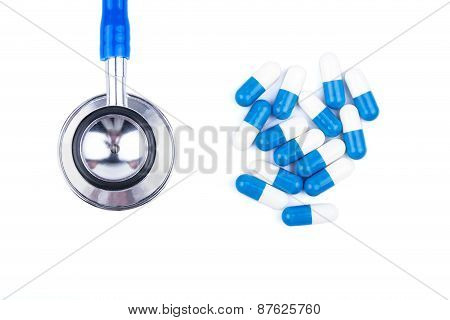 Stethoscope And Capsule