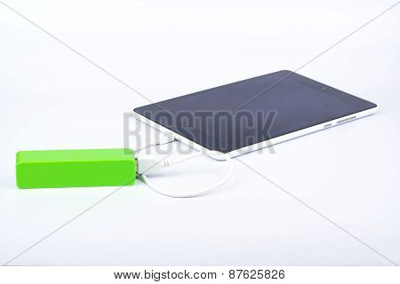 Battery Power Bank And Tablet
