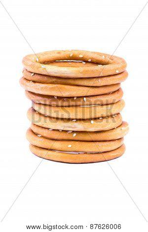 Bagel With Sesame Seeds
