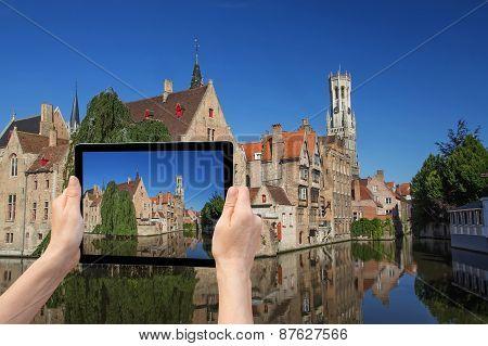 Travel To Bruges (flanders, Belgium)