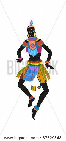 Ethnic Dance African Woman